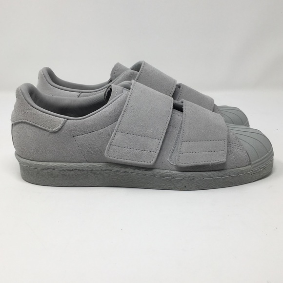 big sale da0fa 22e76 AP40 Adidas Superstar 80s CF Grey Women's